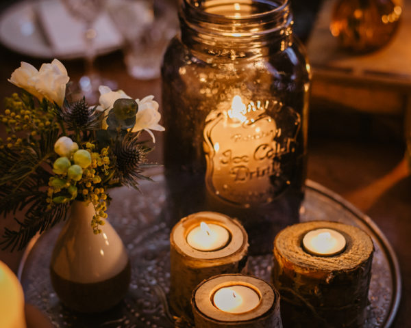 Pour les bougies