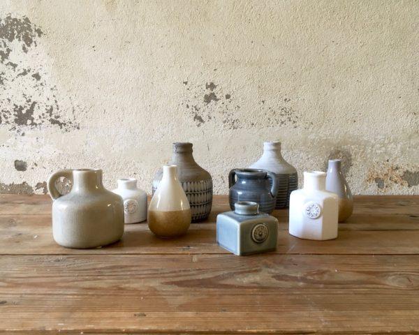 Lot de céramique gris