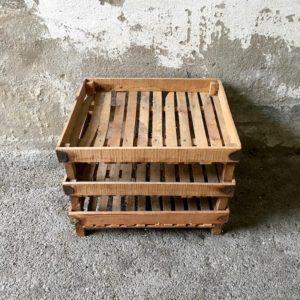 Trio de caissettes