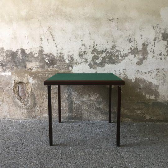 Table de jeu velours vert