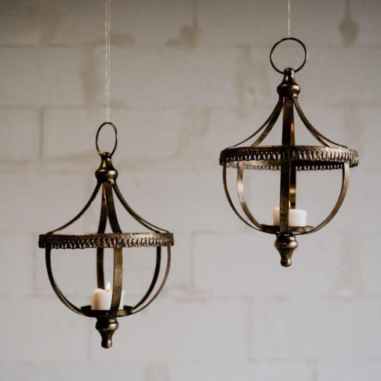 Duo de lanternes à suspendre